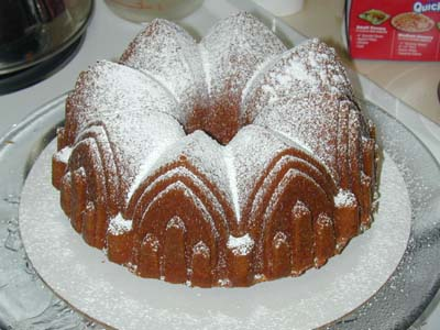 Egg Nog Pound Cake