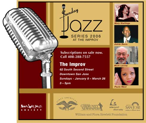 San Jose Jazz Festival Sunday Series