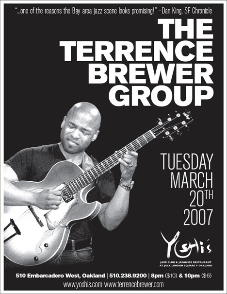 Terrence Brewer Group @ Yoshi's